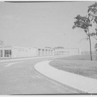Harry Thompson Junior High School, Syosset, Long Island. Exterior VI