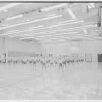 Harry Thompson Junior High School, Syosset, Long Island. Gymnasium