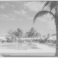 Lyford Cay Club, Bahamas. Pool and cabanas