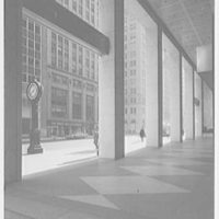 Morgan Guarantee Trust Building, 44th St. and 5th Ave. Through columns, looking south II