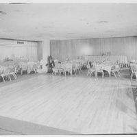 Schrafft's, Eastchester. Banquet room, dance floor