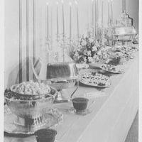 Schrafft's, Eastchester. Detail of buffet