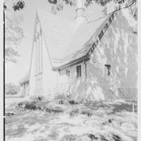 Westminster Chapel, West Hartford, Connecticut. Exterior I, a.m.