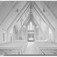 Westminster Chapel, West Hartford, Connecticut. Interior I, general view