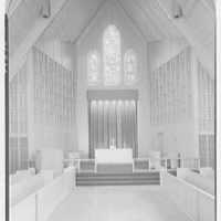Westminster Chapel, West Hartford, Connecticut. To altar and pulpit II