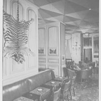 Essex House, Central Park South, New York City. Bombay bar II