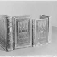 Gordon Ray, 25 Sutton Place South, New York. Group of French cathedral bindings