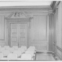 Morgan Library, E. 36th St., New York City. Auditorium detail