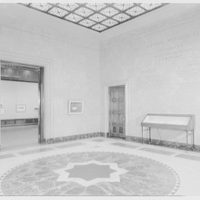 Morgan Library, E. 36th St., New York City. Entrance foyer I