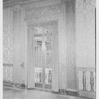Morgan Library, E. 36th St., New York City. Meeting room window