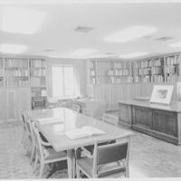 Morgan Library, E. 36th St., New York City. Print room I