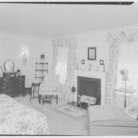Mr. and Mrs. John Rosenwald, residence on Purchase St., Rye, New York. Bedroom