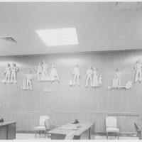 Seamen's Bank for Savings, 11 Beaver St. branch, New York City. Close-up sculpture panel