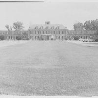C.W. Post College, Marjorie Post Hall, Long Island University, Greenvale, Long Island. Exterior II
