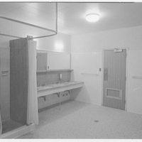 C.W. Post College, Marjorie Post Hall, Long Island University, Greenvale, Long Island. Washroom