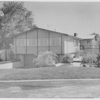 F. Pollack, residence on 217th St., Bayside, Long Island. Entrance facade I