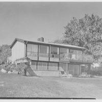 F. Pollack, residence on 217th St., Bayside, Long Island. Rear