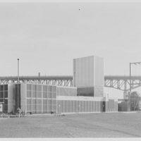 Public Service, Newark, New Jersey, Essex station. View from northwest