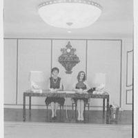 Warner Brothers Co., 90 Park Ave., New York City. Secretarial desk