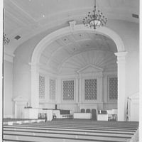 First Presbyterian Church, Bethlehem, Pennsylvania. Chancel