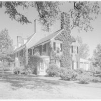 Mr. and Mrs. H.O. Frelinghuysen, residence in Far Hills, New Jersey. Approach view of house