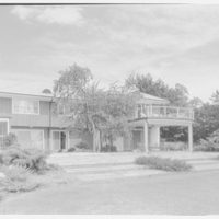 Mr. Saul Lerner, residence on Seawane Dr., Hewlett Harbor, Long Island. Rear II