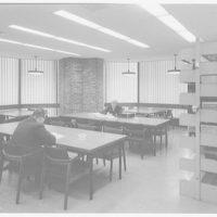 Courant Institute of Math, New York University, 251 Mercer St., New York City. Library, southeast corner II