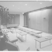 Courant Institute of Math, New York University, 251 Mercer St., New York City. Lounge, to blackboard
