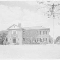 C.W. Post College, Brookville, Long Island, New York. Genevieve Roth building, general I