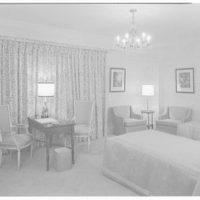 Essex House, penthouse apartment. Beige bedroom