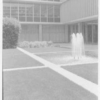 Reynold's Metal Company, 6601 Broad St., Richmond, Virginia. Detail of fountain
