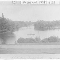 Prospect Park. Lake scene